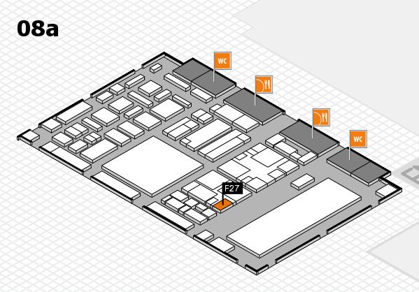 boot 2018 hall map (Hall 8a): stand F27