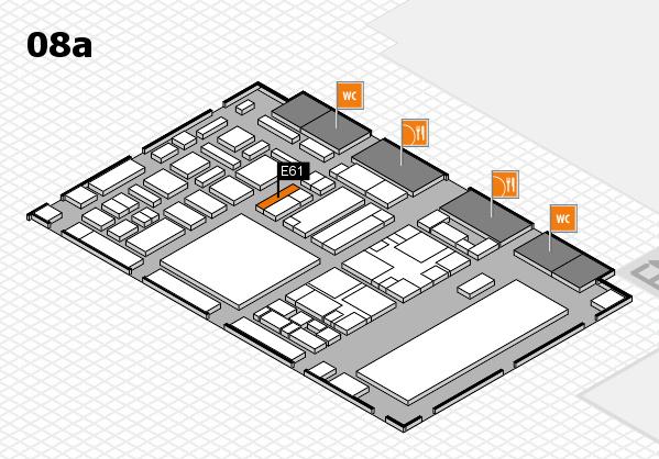 boot 2018 hall map (Hall 8a): stand E61