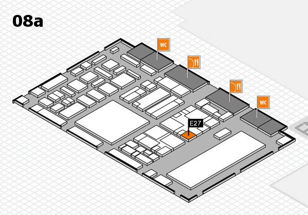 boot 2018 hall map (Hall 8a): stand E27