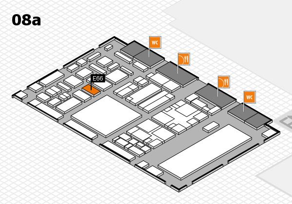 boot 2018 hall map (Hall 8a): stand E66