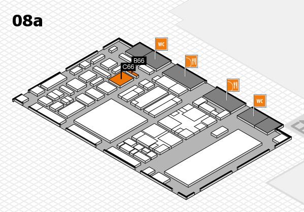 boot 2018 hall map (Hall 8a): stand B66, stand C66
