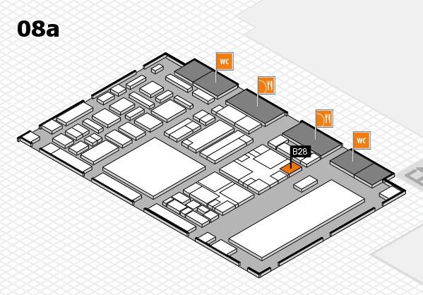 boot 2018 hall map (Hall 8a): stand B28