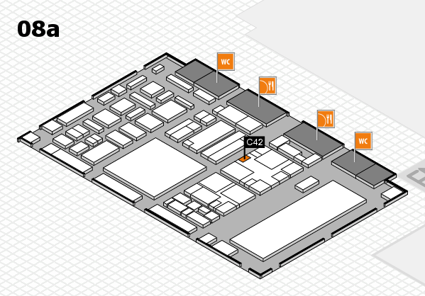 boot 2018 hall map (Hall 8a): stand C42