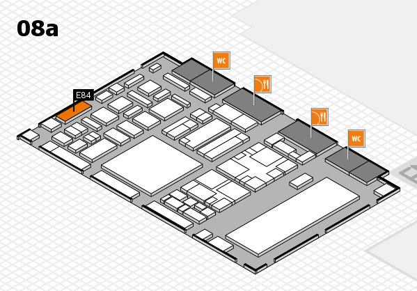 boot 2018 hall map (Hall 8a): stand E84
