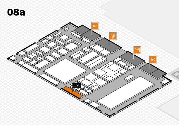 boot 2018 hall map (Hall 8a): stand G28