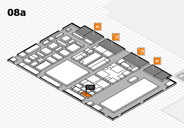 boot 2018 hall map (Hall 8a): stand G30