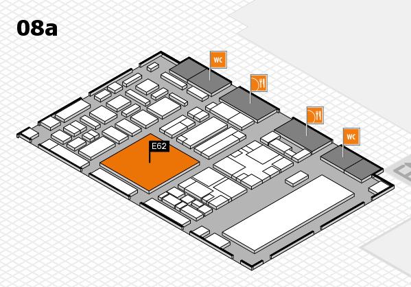 boot 2018 hall map (Hall 8a): stand E62