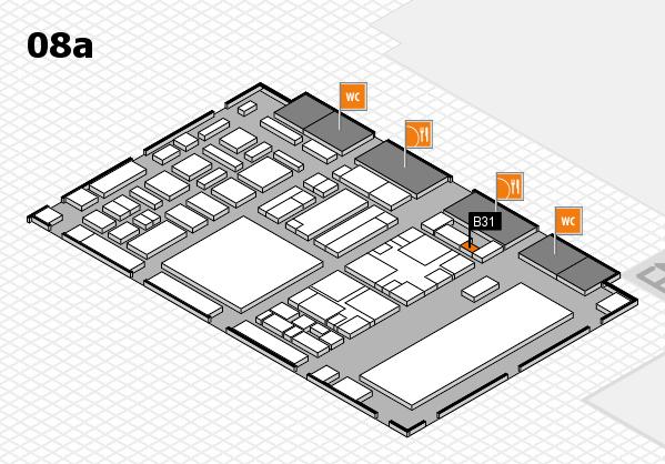 boot 2018 Hallenplan (Halle 8a): Stand B31