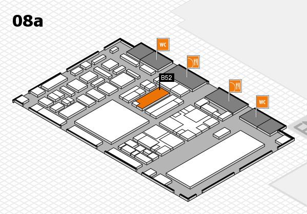 boot 2018 hall map (Hall 8a): stand B52
