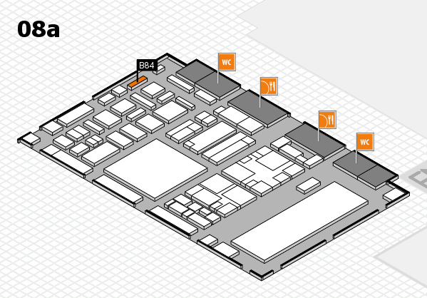 boot 2018 hall map (Hall 8a): stand B84