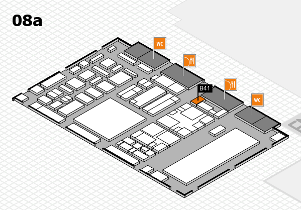 boot 2018 hall map (Hall 8a): stand B41