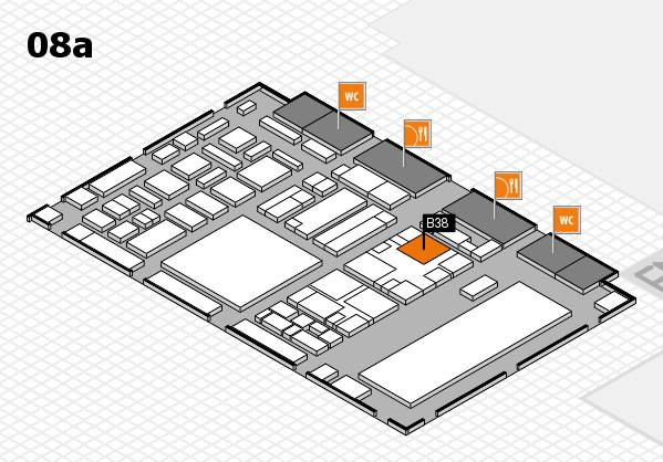 boot 2018 hall map (Hall 8a): stand B38