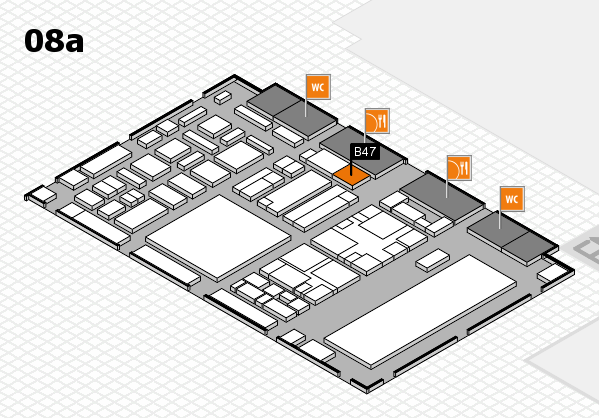 boot 2018 hall map (Hall 8a): stand B47