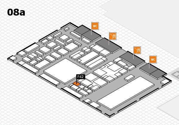 boot 2018 hall map (Hall 8a): stand F42