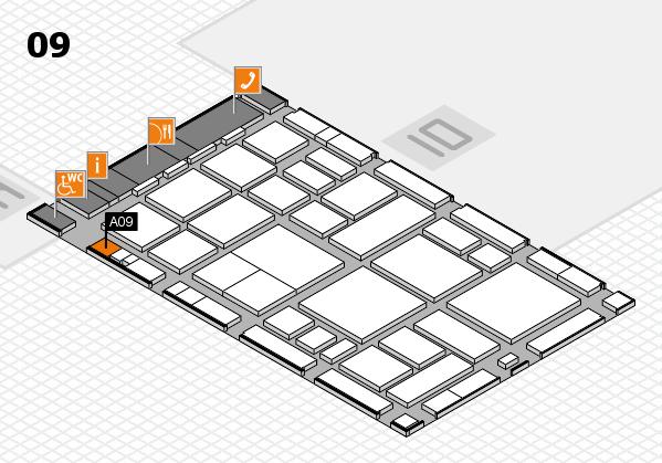 boot 2018 hall map (Hall 9): stand A09