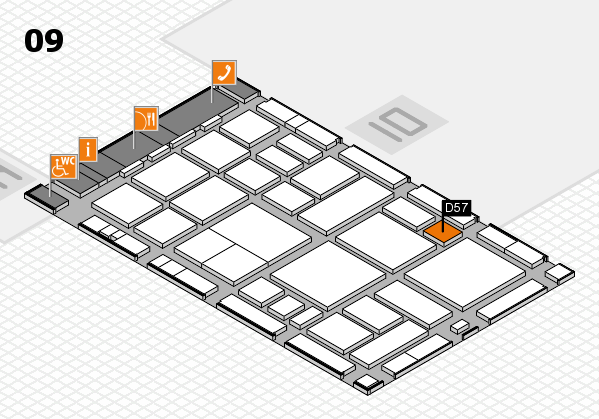 boot 2018 hall map (Hall 9): stand D57