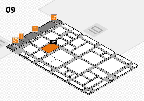 boot 2018 hall map (Hall 9): stand C21