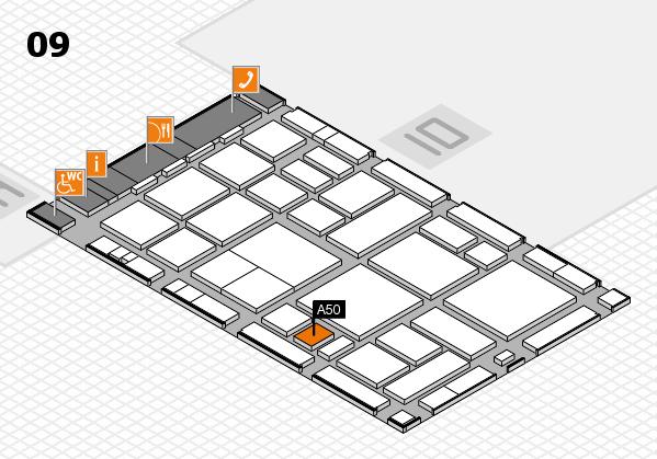 boot 2018 hall map (Hall 9): stand A50