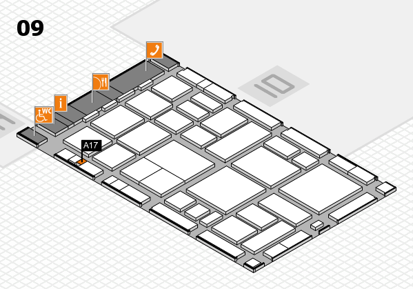 boot 2018 hall map (Hall 9): stand A17