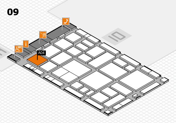 boot 2018 hall map (Hall 9): stand A04