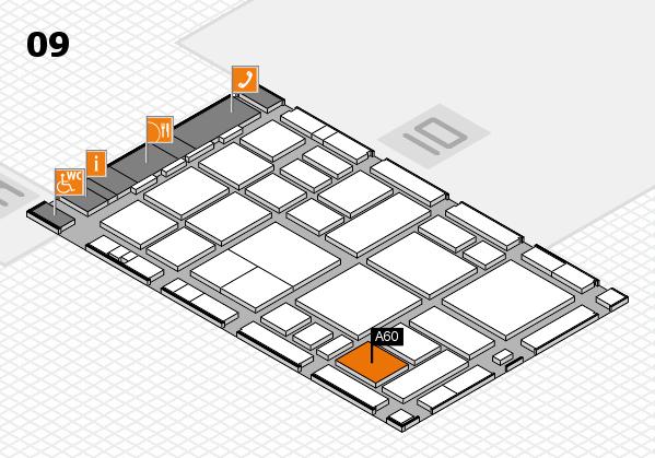 boot 2018 hall map (Hall 9): stand A60