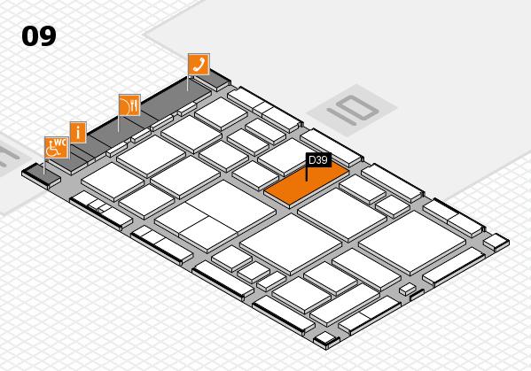 boot 2018 hall map (Hall 9): stand D39