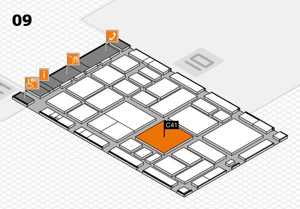 boot 2018 hall map (Hall 9): stand C41