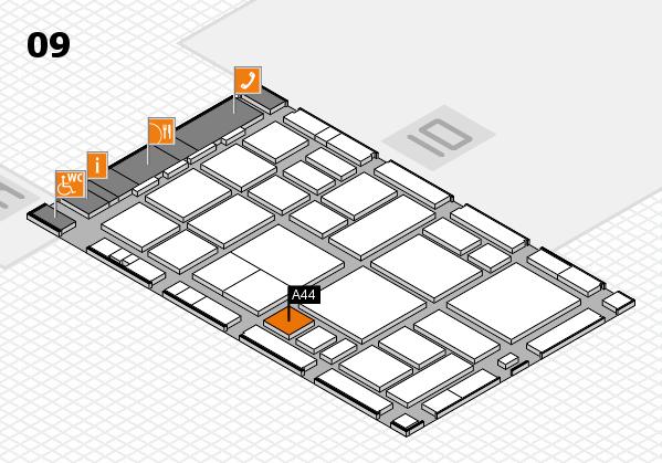 boot 2018 hall map (Hall 9): stand A44
