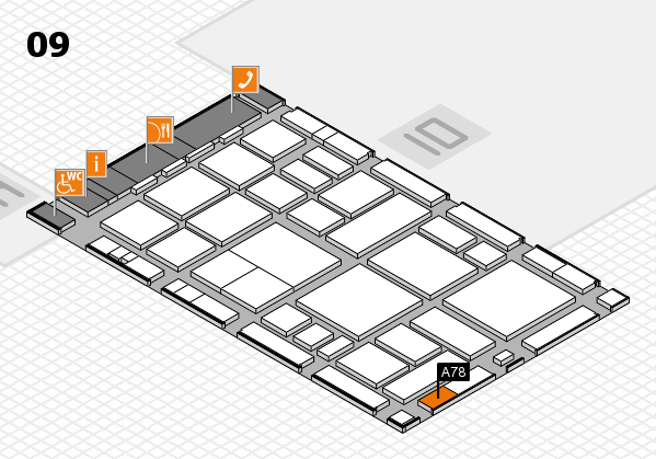 boot 2018 hall map (Hall 9): stand A78