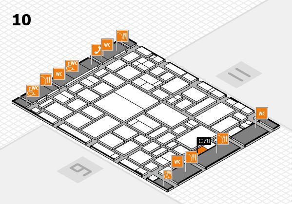 boot 2018 hall map (Hall 10): stand C78