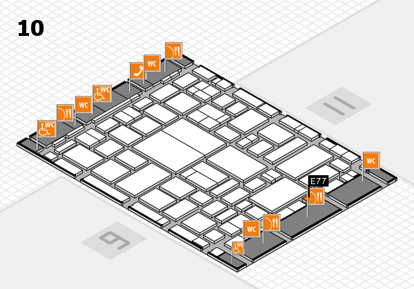 boot 2018 hall map (Hall 10): stand E77
