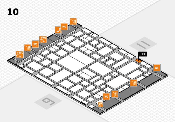 boot 2018 hall map (Hall 10): stand G60
