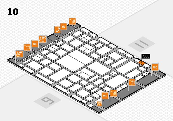 boot 2018 hall map (Hall 10): stand G66