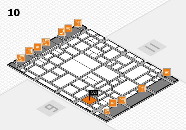 boot 2018 hall map (Hall 10): stand A60