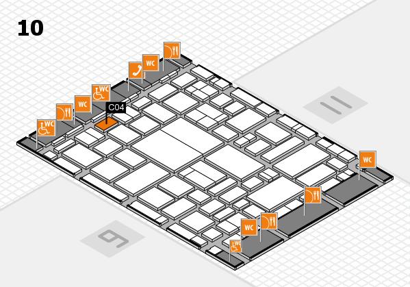 boot 2018 hall map (Hall 10): stand C04
