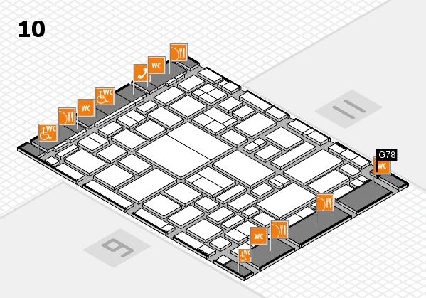 boot 2018 hall map (Hall 10): stand G78