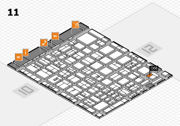 boot 2018 Hallenplan (Halle 11): Stand G68