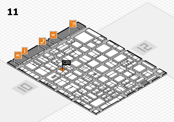 boot 2018 Hallenplan (Halle 11): Stand C25
