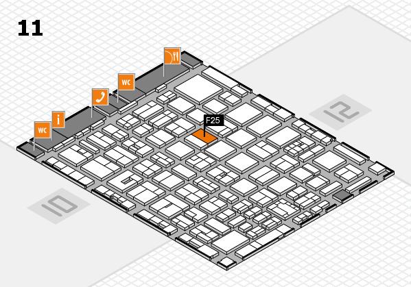 boot 2018 Hallenplan (Halle 11): Stand F25