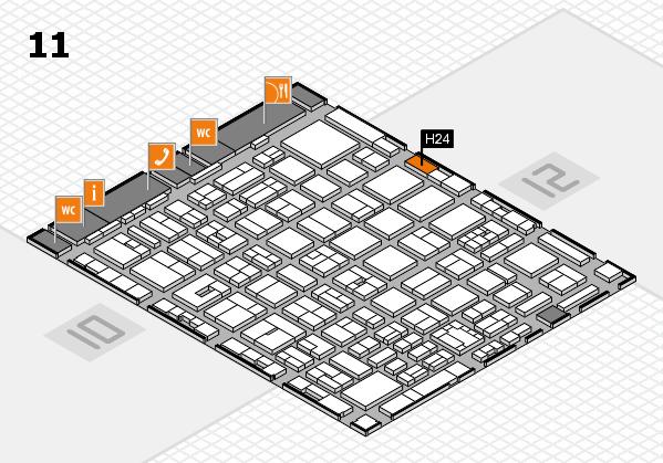 boot 2018 Hallenplan (Halle 11): Stand H24