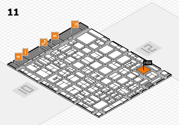 boot 2018 Hallenplan (Halle 11): Stand H59
