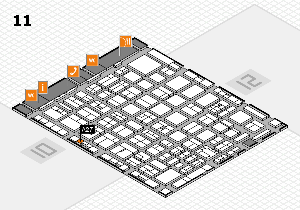boot 2018 hall map (Hall 11): stand A27
