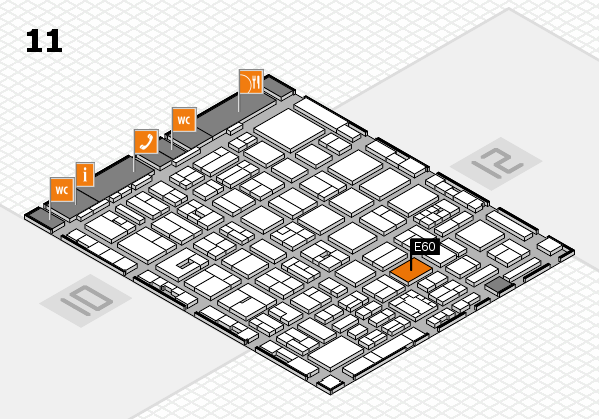boot 2018 hall map (Hall 11): stand E60