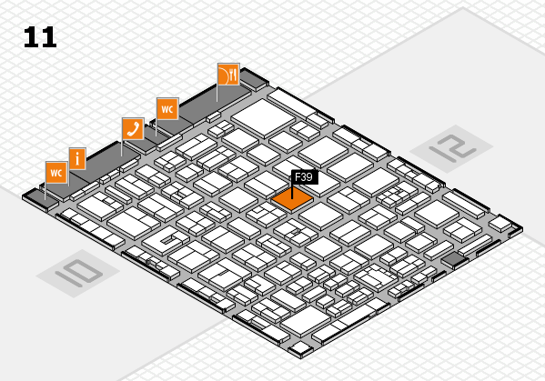 boot 2018 Hallenplan (Halle 11): Stand F39