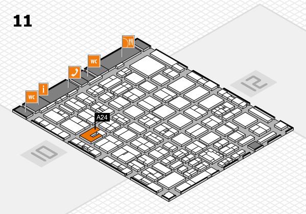 boot 2018 Hallenplan (Halle 11): Stand A24