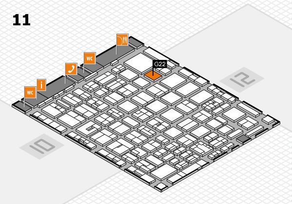 boot 2018 Hallenplan (Halle 11): Stand G22