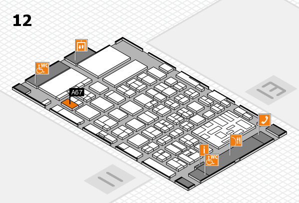 boot 2018 Hallenplan (Halle 12): Stand A67
