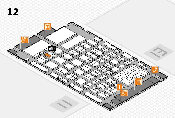 boot 2018 hall map (Hall 12): stand B67
