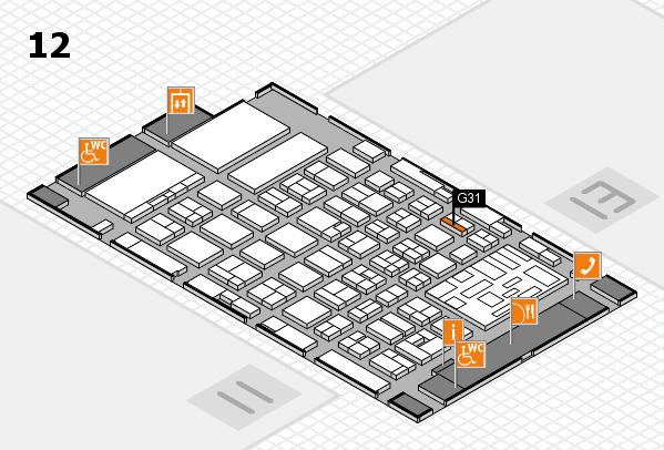 boot 2018 hall map (Hall 12): stand G31