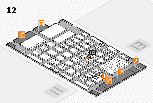 boot 2018 hall map (Hall 12): stand E32